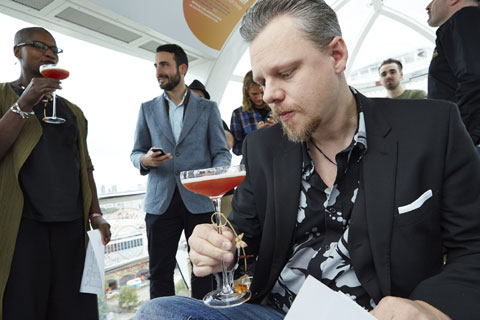 Peter Holland - Angostura Aromatic Bitters Global Cocktail Challenge 2014