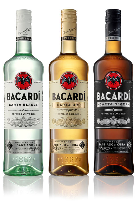 Bacardi Rum Gets A Brand New Look