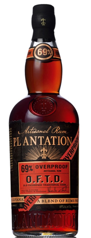 Plantation O.F.t.D. Old Fashioned Traditional Dark Overproof Rum