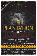 Smuggler's Cove Plantation Royal Blend Rum