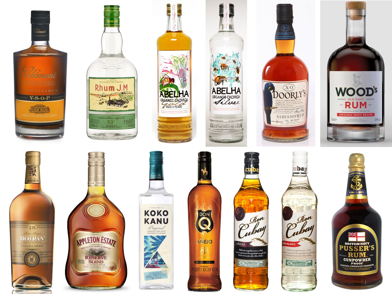 Carnival Expo 2017 Featured Rums