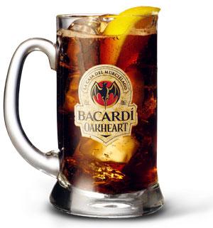 bacardi oakheart cocktail