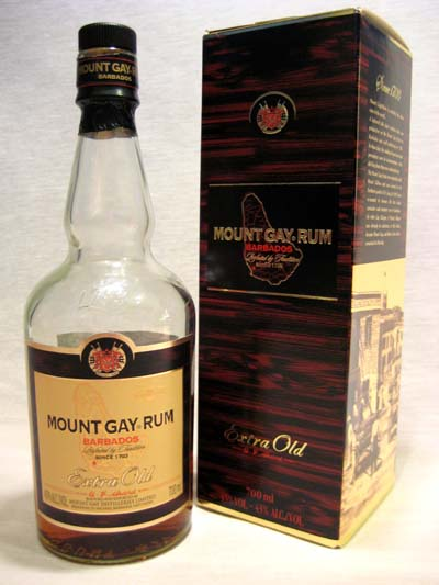 We were amazed to find they stocked Mount Gay Extra Old. Priced at £27.99 ...