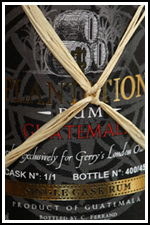 Gerry's Plantation Rum Guatemala Pineau Cask Finish