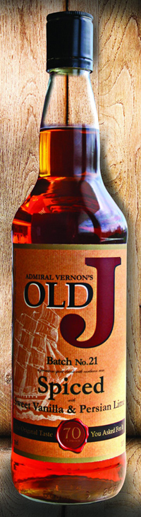 Admiral Vernons Old J Spiced