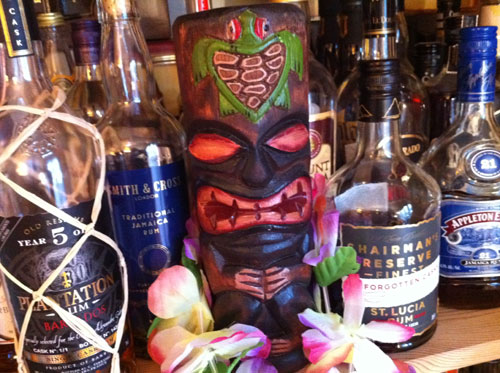 The Tiki Gods Protect Our Rum!